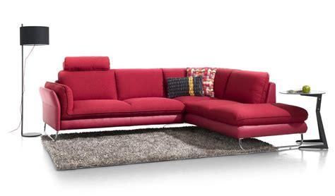 ottomane zetel vivano hoeksalon tatra rood rosswel rood deba meubelen