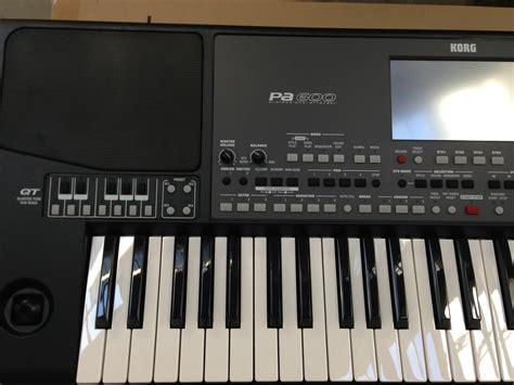 Keyboard Korg Pa600 Qt korg pa600qt image 761690 audiofanzine