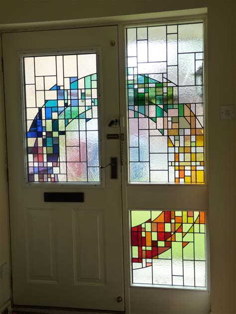 New Glass lightworks inspired stained glass commissions