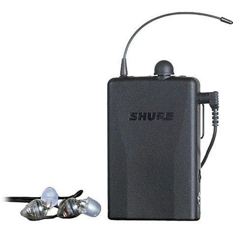 Harga Ear Monitor Shure Psm 200 shure psm 200 hardwired beltpack monitor with e2 earphones