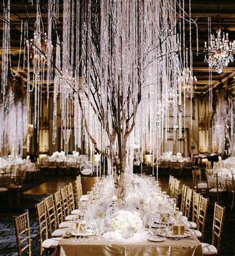 black and gold indoor winter wedding reception wedding