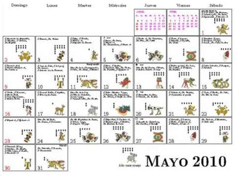 Calendario Azteca Significado De Sus Signos Calendario Anahuac 2010