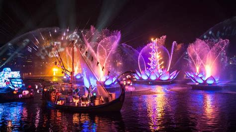disney light rivers of light to debut at disney s kingdom after