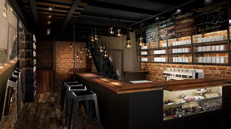 old coffee shop design quot old train station quot coffee shop design first floor what
