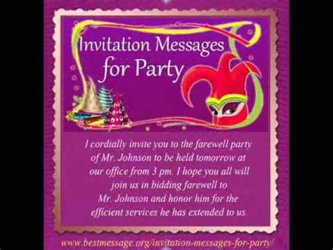 Invitation Letter For Holi Best Invitation Messages Sle Invitation Text