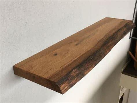 fensterbank innen holzoptik bol zwevende boomstam houten wandplank boekenplank