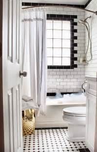 Black White Gold Bathroom » New Home Design