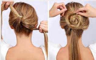 step by step easy updos for thin hair 10 easy wedding updo hairstyles step by step everafterguide