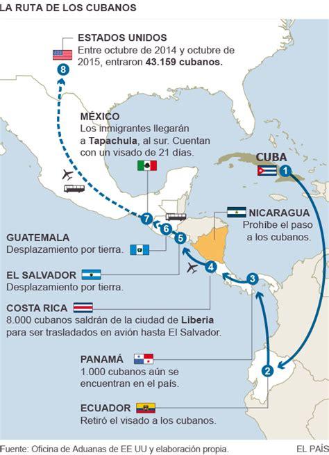 brasil và costa rica cuba la migraci 243 n cubana retoma su ruta a ee uu desde