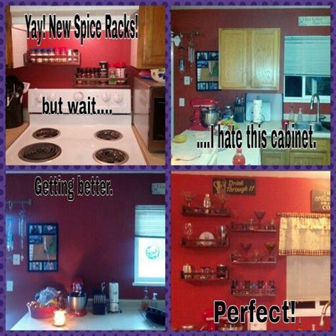 Stand Alone Spice Rack Replacing My Stand Alone Kitchen Cabinet With Stained