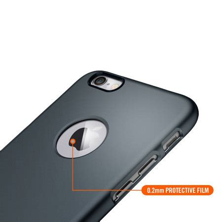 Spigen Thin Fit For Iphone 6 6s Metalic spigen thin fit a iphone 6s 6 shell metal slate reviews mobilezap australia