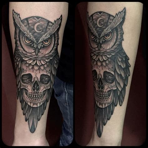 owl skull tattoo 25 best ideas about owl skull tattoos on owl