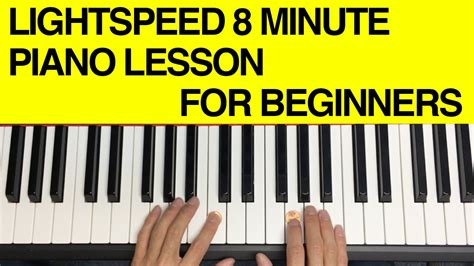 tutorial piano beginner learn how to play chords on the piano in less than 8