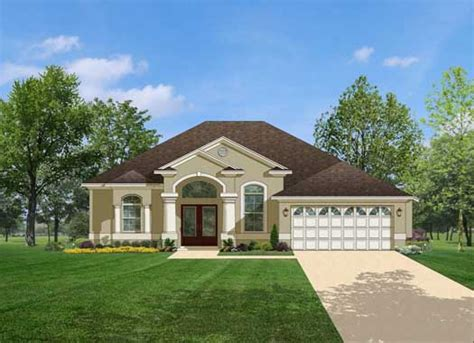 florida style home plans florida style house plans 1623 square foot home 1 story 3 bedroom and 2 bath 2 garage