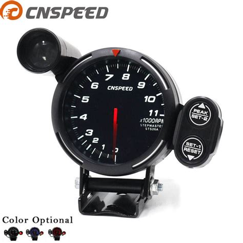 Rpm Meter Untuk Motor Cnspeed 80mm Car Tachometer Stepper Motor 0 11000