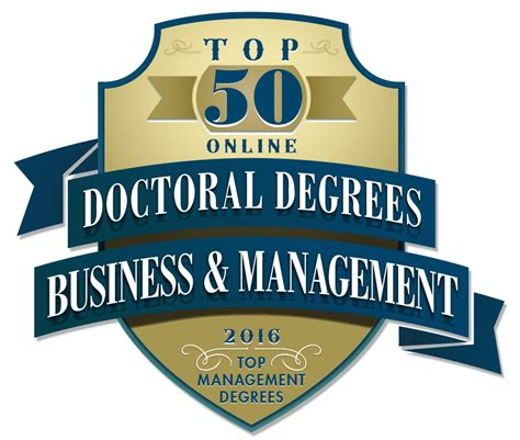 Business Doctoral Programs 1 doctor of business administration business phd