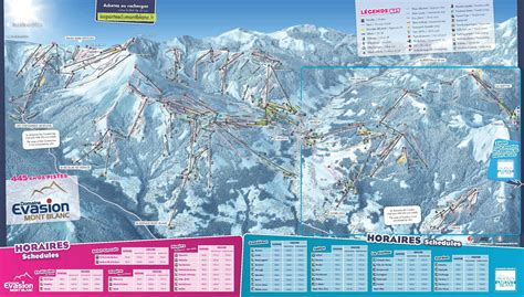 Domaines skiables Evasion Mont Blanc