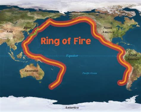 ring of fire volcanoes and the ring of fire