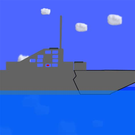 sinking ship animation algodoo