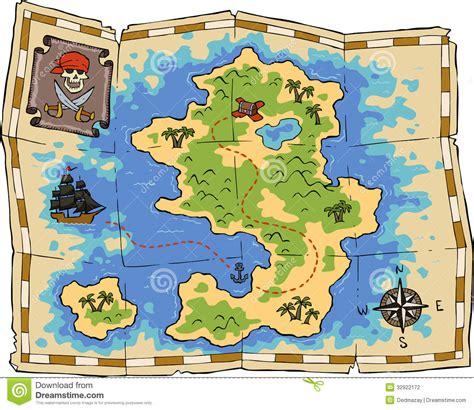 treasure map stock photography image 32922172
