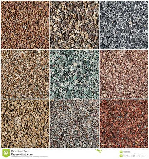 Home Stones Decoration Deco pea gravel royalty free stock photos image 15397368