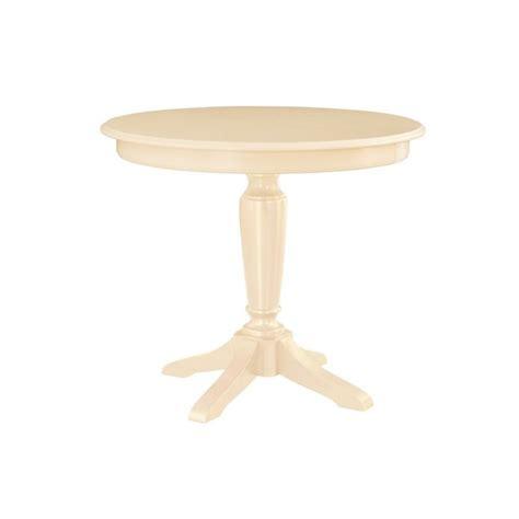 American Drew Camden Antique White American Drew Camden Counter Height Pedestal Table