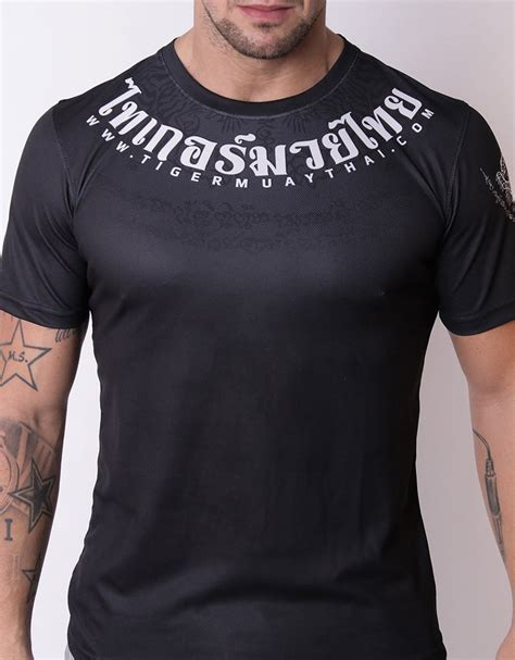 Tshirt Black Lizard Fightmerch sport bra quot signature quot black orange tmt fightstore