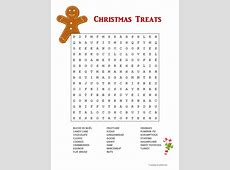 Christmas Foods Word Search Free Clipart For Teachers Pay Teachers