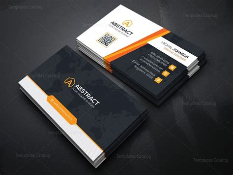 business card templates psd size psd technology business card 000167 template catalog