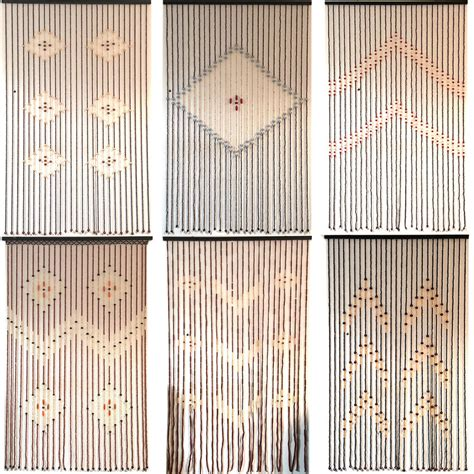 Bamboo Beaded Curtains For Doors Top Quality Bamboo Beaded Door Curtains Blinds Fly Insects Door Curtain Wooden Ebay