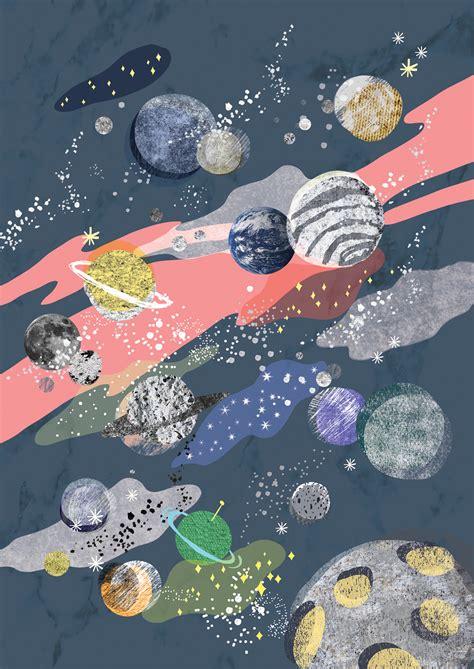 pattern universe com illustrations for essay book on behance