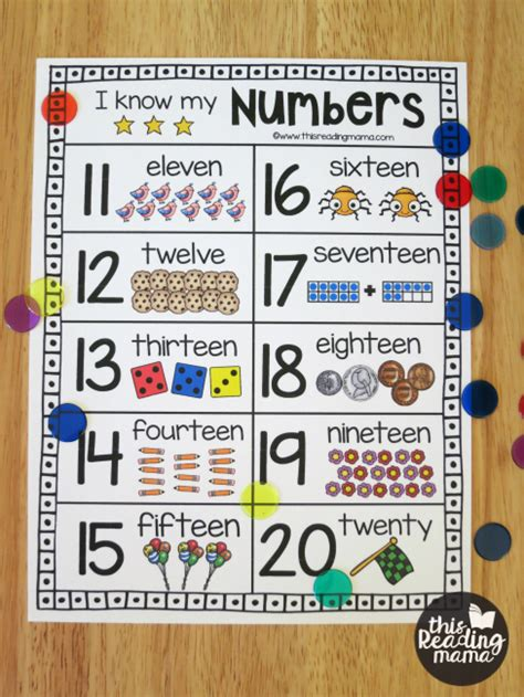printable numbers chart 1 20 free worksheets 187 pictures of numbers 1 20 free math
