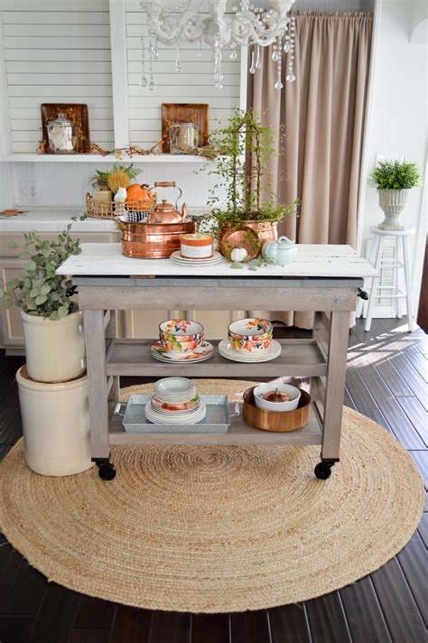 fall kitchen decorating ideas fall vintage kitchen decorating fox hollow cottage