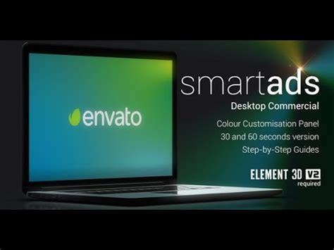 After Effects Template Smartads Desktop Commercial Template Youtube After Effects Commercial Template Free