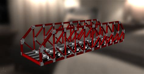 steel structure  truss bridge  dwg model