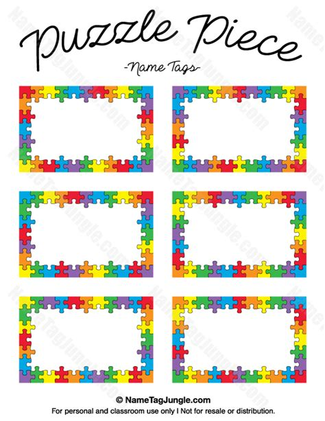 name puzzle template puzzle name tags name tags at nametagjungle