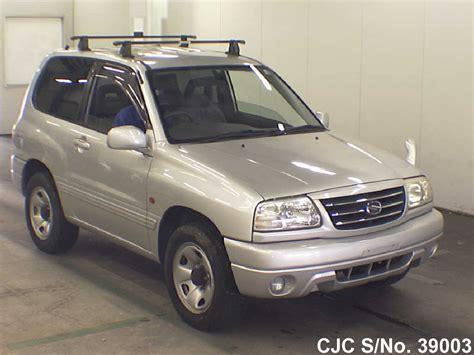 Suzuki Escudo 2002 2002 Suzuki Escudo Grand Vitara Silver For Sale Stock No