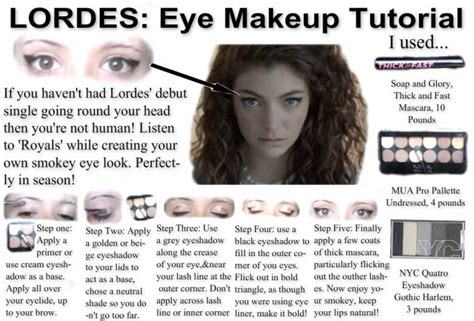 lorde makeup tutorial 301 moved permanently