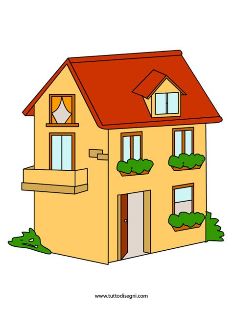 disegno casa casa immagine da stare tuttodisegni