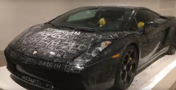Lamborghini Gallardo This Scratched Up Lamborghini Gallardo Is Now A