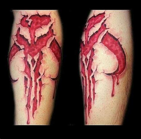 mandalorian tattoo 25 best mandalorian tattoos images on