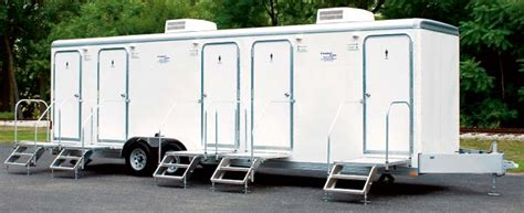 Bathroom Trailers by Restroom Trailers Sanitary Systems Made To Jets