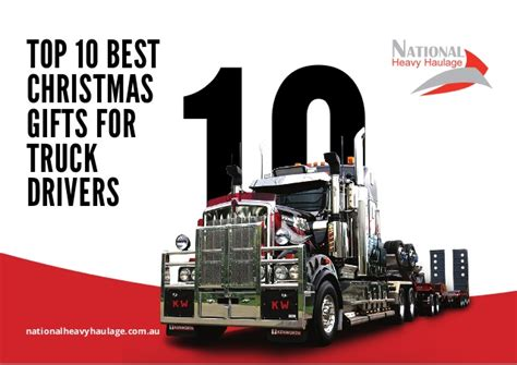 top 10 best christmas gifts for truck drivers