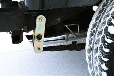Jeep Yj Shackle Lift Yj Shackle Lift Problems