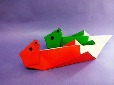 Origami Otter - 93 best images about paper origami 종이접기달인 on