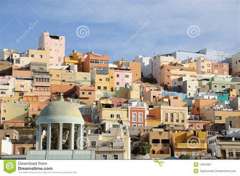 houses in spain colorful houses in spain stock image image 14561851