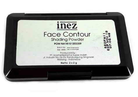 Harga Inez Contour Shading Powder review inez contour shading powder yukcoba in