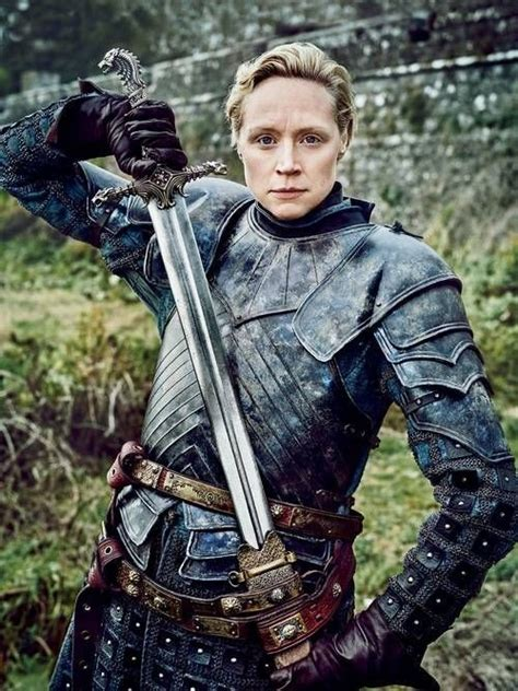 brienne of tarth armor at got s04 e04 a song of ice and fire arya is finally a worthy opponent to brienne of tarth and everything is right with the world