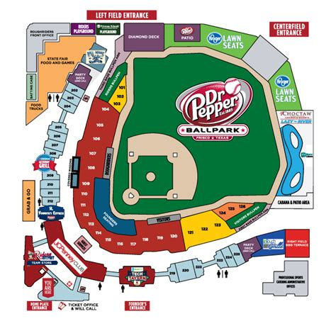 altoona curve stadium seating chart rangers stadium seating map my
