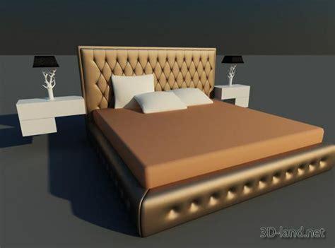 bed blocks round bed blocks 3d max model download free 3d land net